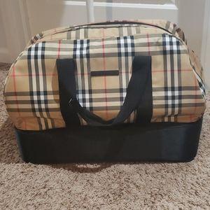 Genuine Burberry Golf duffle bag